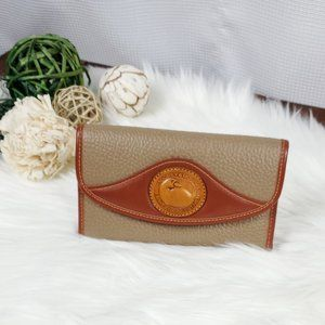 Vintage Dooney & Bourke Tri-fold Wallet
